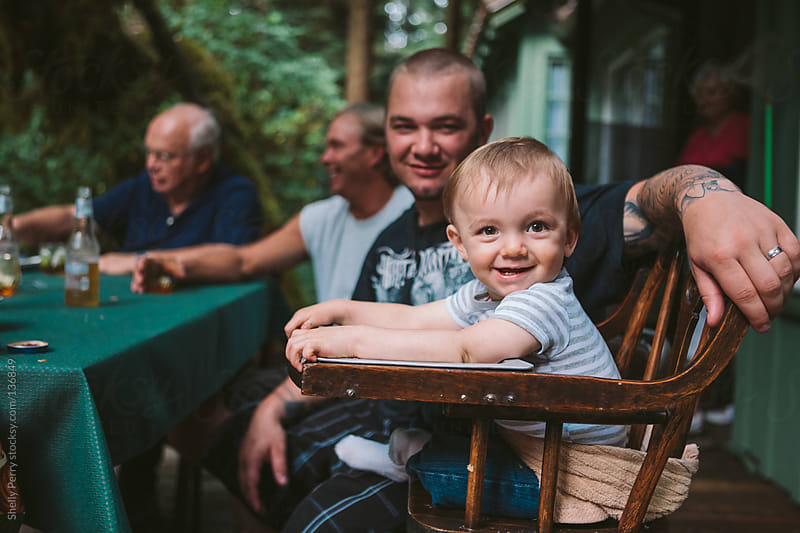 Four Generations by Shelly Perry for Stocksy United