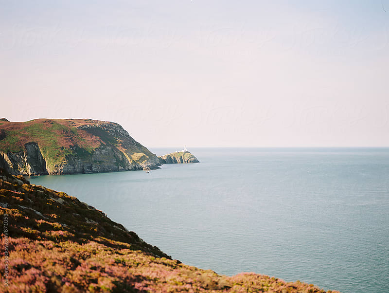 coast line in Wales by Léa Jones for Stocksy United