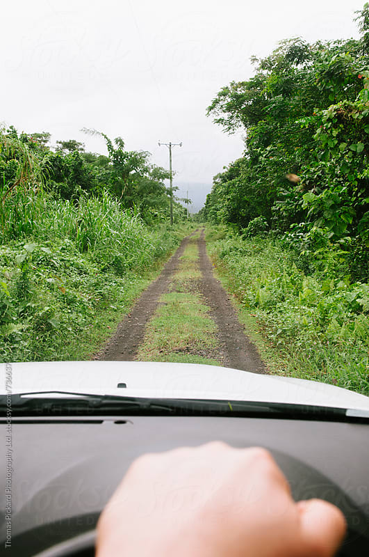 Driving a vehicle in Samoa. by Thomas Pickard for Stocksy United