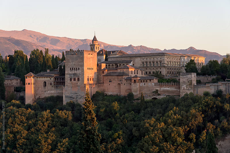 Views of the Alhambra by Bisual Studio for Stocksy United