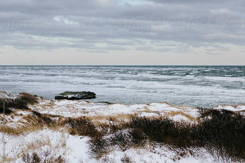 Winter ocean by Photographer Christian B for Stocksy United
