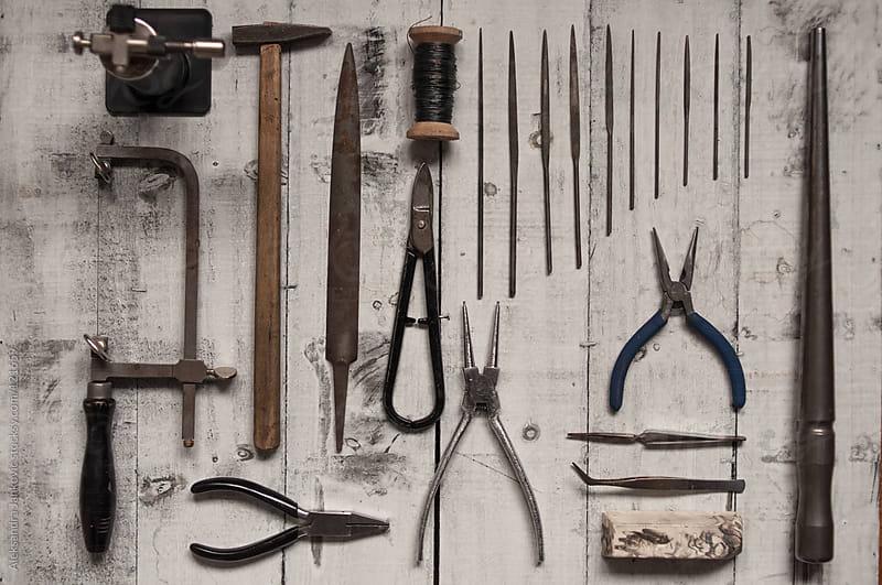 Jeweler's Basic Tools by Aleksandra Jankovic for Stocksy United