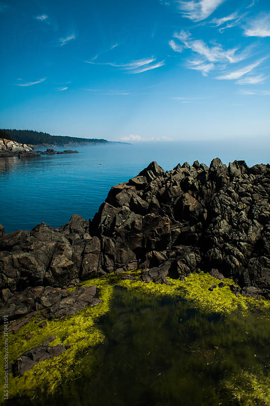 Rocks by the water by L&S Studios for Stocksy United