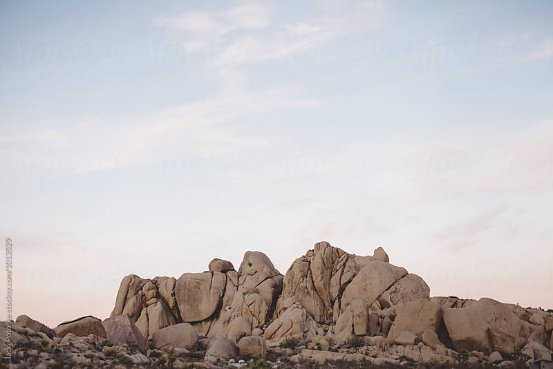 Desert Rock Landscape by Jacki Potorke for Stocksy United