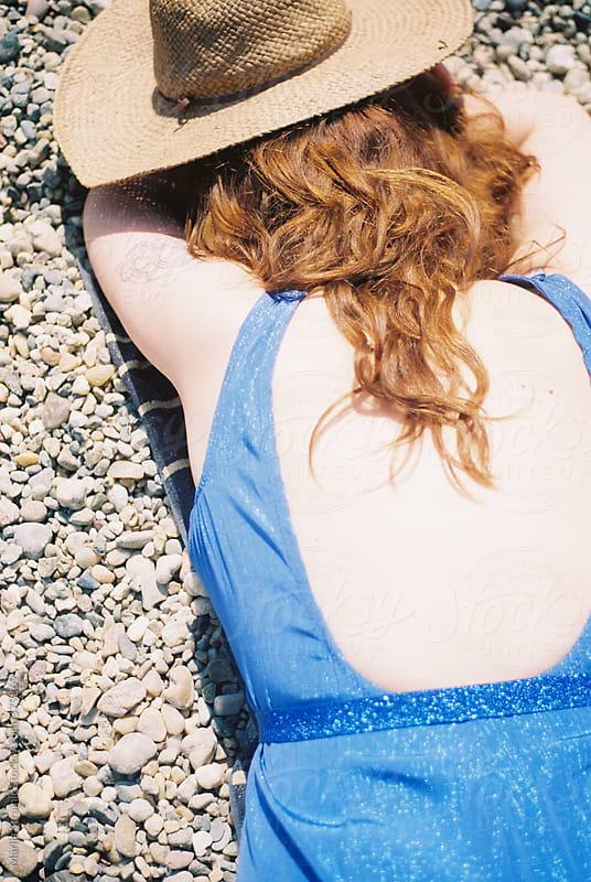 Sleeping in the sun by Marija Strajnic for Stocksy United