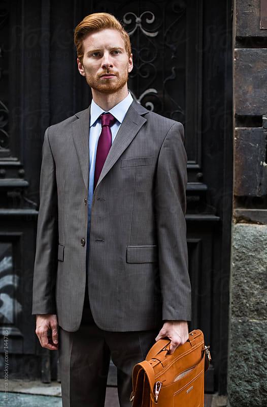 Modern Businessman by Lumina for Stocksy United