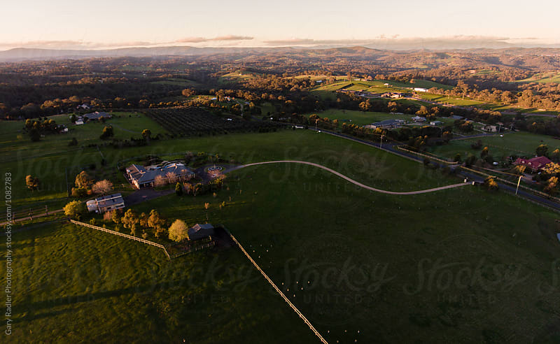 Agricultural Landscape in Victoria, Australia by Gary Radler Photography for Stocksy United