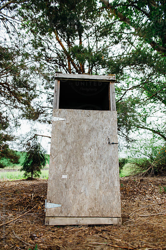 Outhouse On Farm Property by Luke Mattson for Stocksy United