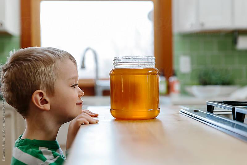 Honey Jar Kid by Raymond Forbes LLC for Stocksy United