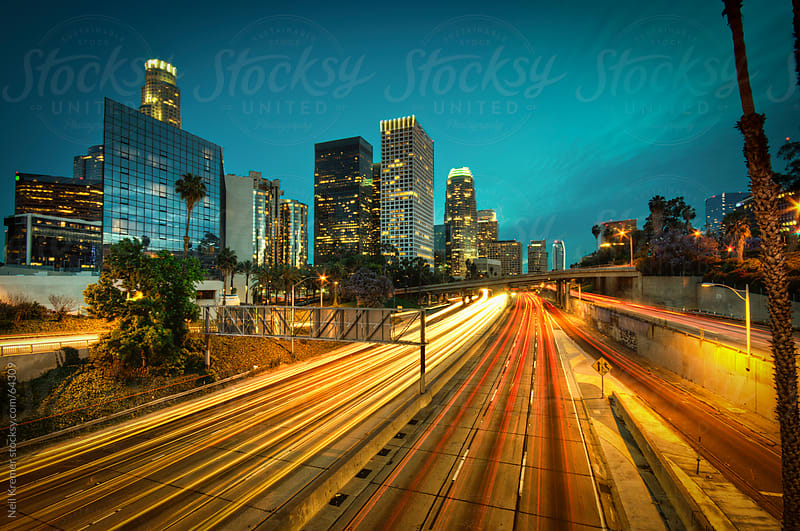 LA Lines by Neil Kremer for Stocksy United