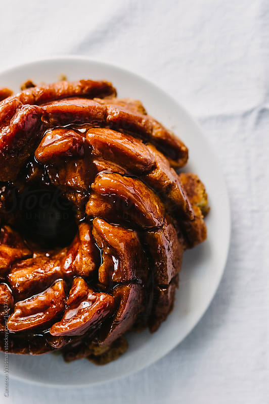 Moneky Bread Bundt Cake by Cameron Whitman for Stocksy United