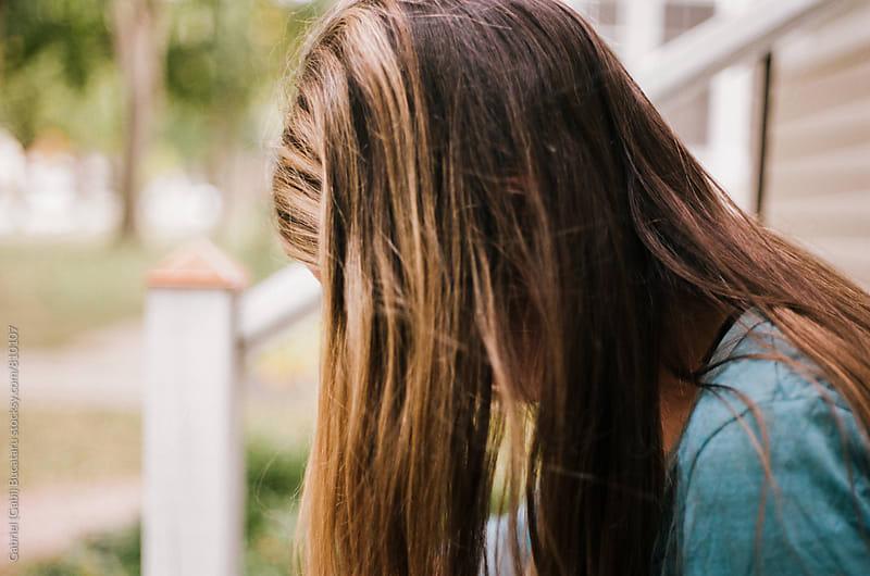 Woman's hair by Gabriel (Gabi) Bucataru for Stocksy United