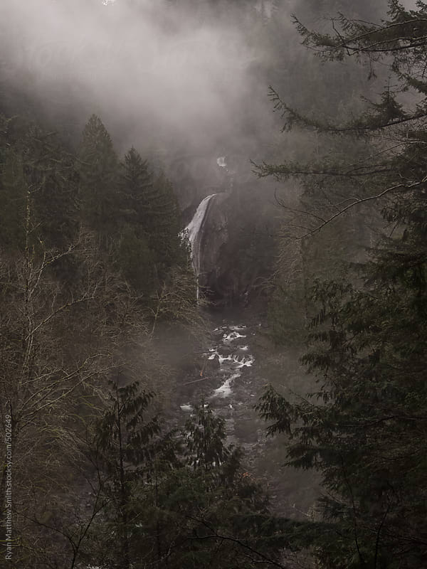 Twin Falls, Washington by Ryan Matthew Smith for Stocksy United