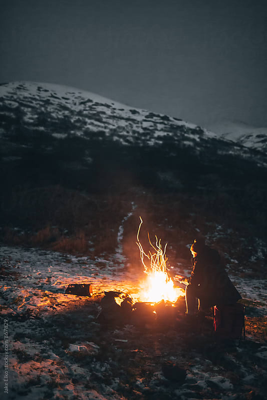 Campfire Memories by Jake Elko for Stocksy United