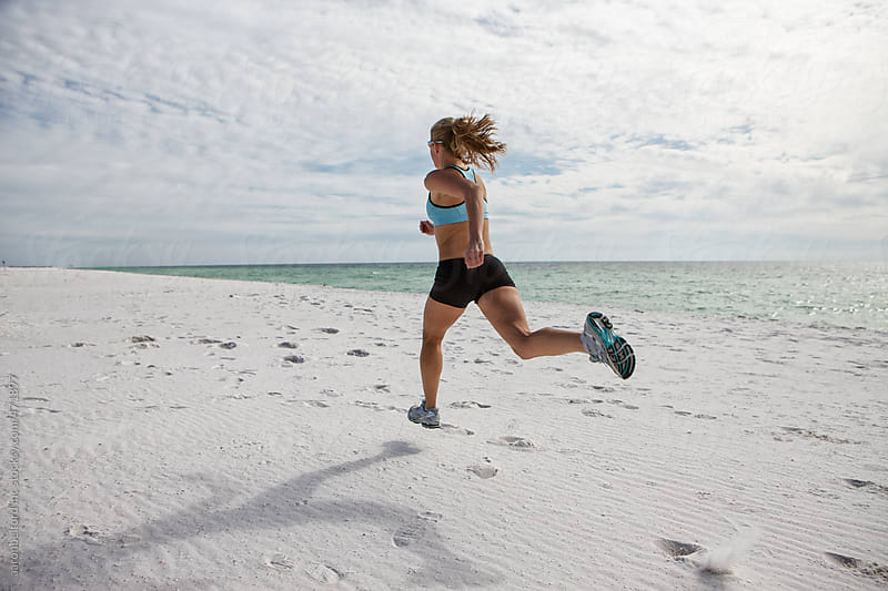 Beach Run by aaronbelford inc for Stocksy United