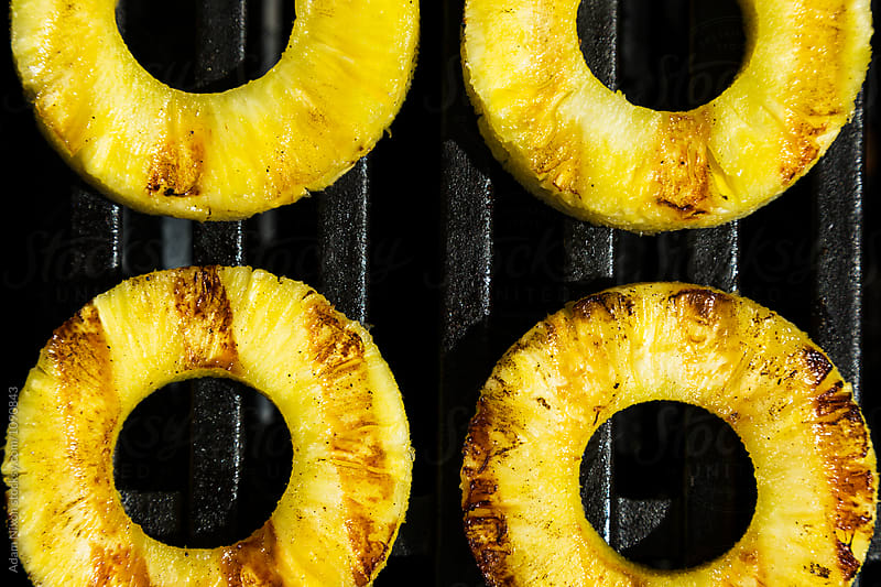 Grilled Pineapple by Adam Nixon for Stocksy United
