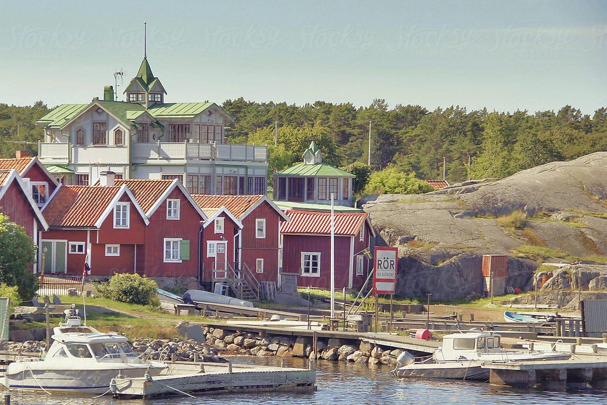 Sandhamn Island In The Stockholm Archipelago