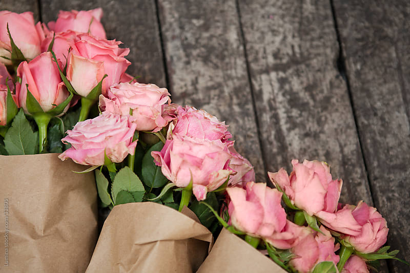 Rose Bouquets by Lumina for Stocksy United