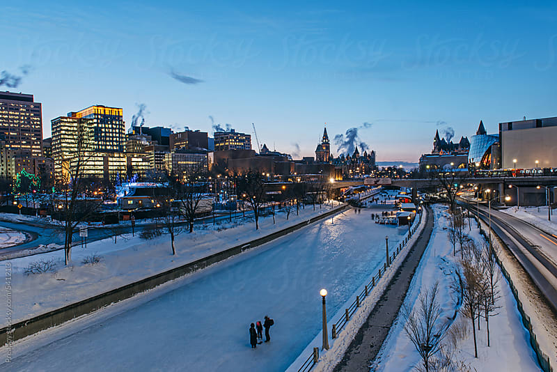 Ottawa Rideau Canal by Preappy for Stocksy United