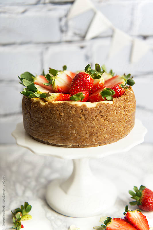 Cheesecake by Veronika Studer for Stocksy United