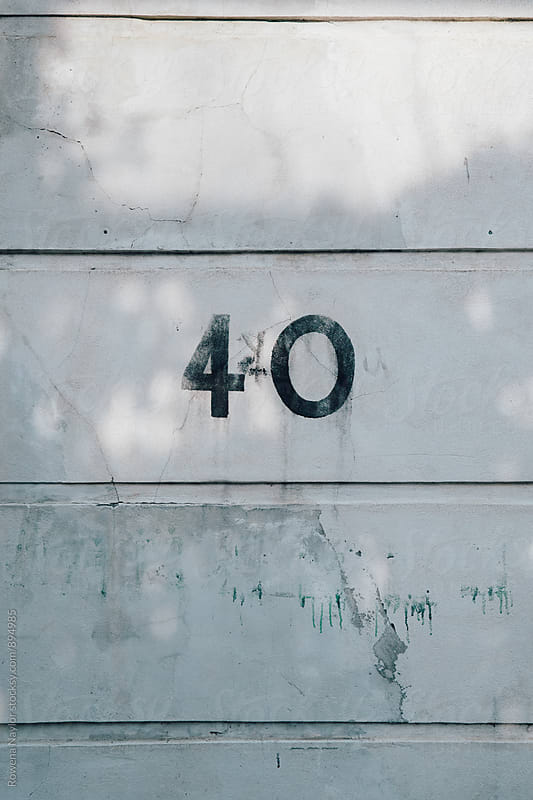 Number 40 by Rowena Naylor for Stocksy United