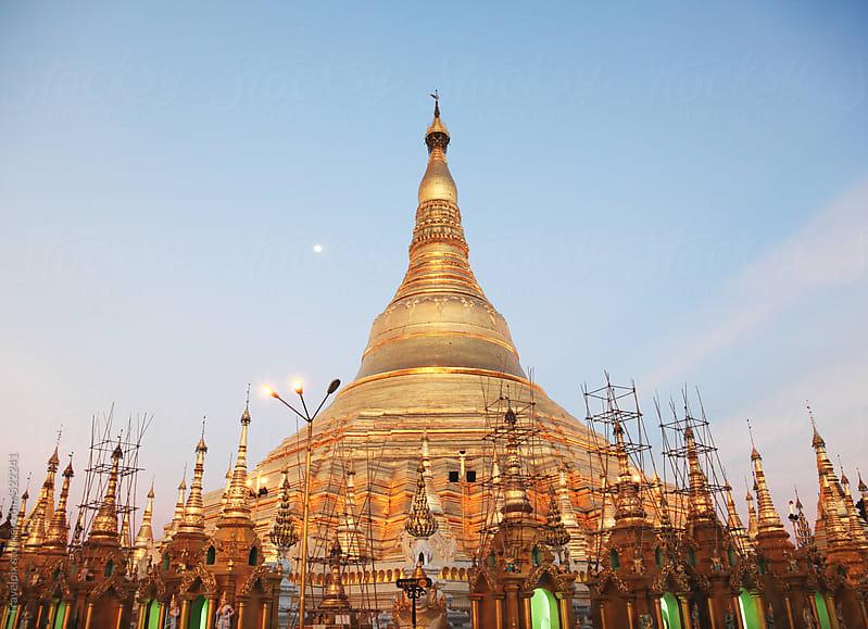 Shwedagon Pagoda, Yangon (Rangoon), Myanmar (Burma), Asia by Travelpix for Stocksy United