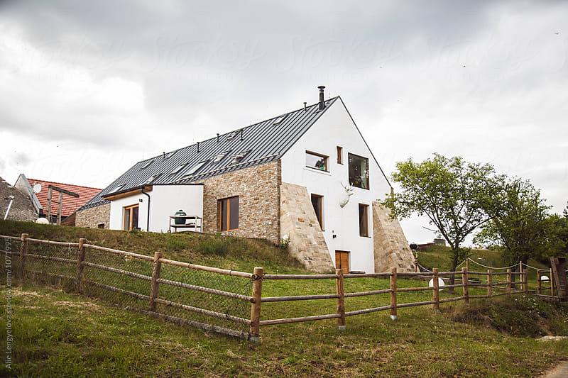 Lovely Farm House by Alie Lengyelova for Stocksy United