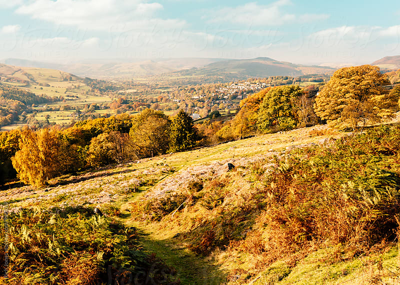 Hathersage, Peak District, UK by Rich Jones for Stocksy United