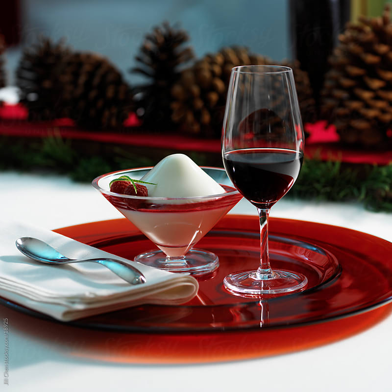 Port and Dessert by Jill Chen for Stocksy United