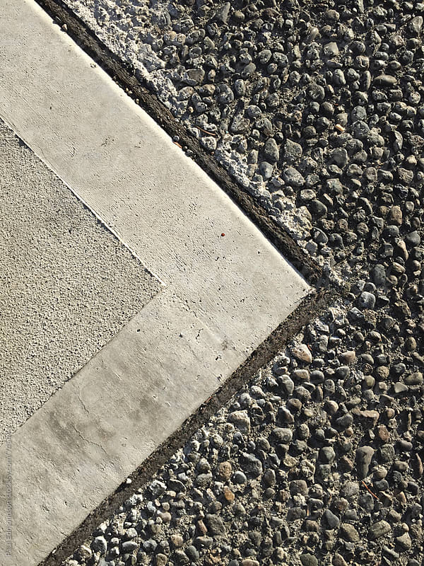 Close up of urban sidewalk by Paul Edmondson for Stocksy United