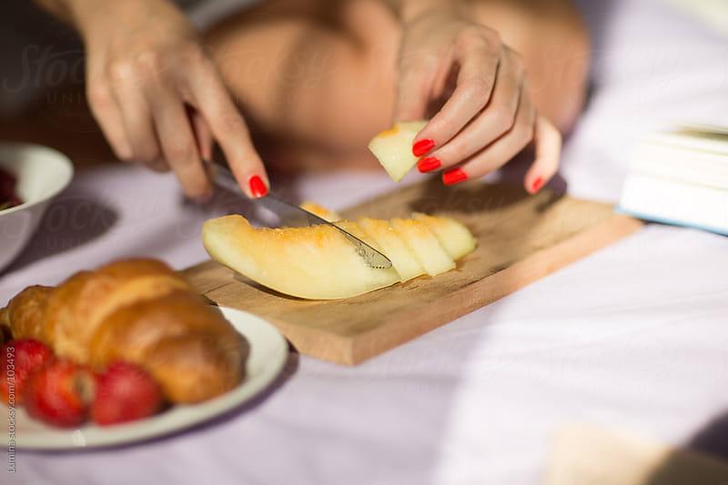 Melon for Breakfast by Lumina for Stocksy United