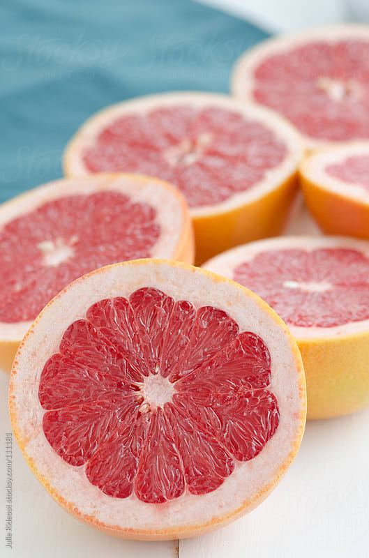 Red Grapefruit by Julie Rideout for Stocksy United