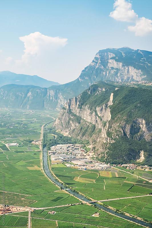 Alpine Valley in Trentino, North Italy by Giorgio Magini for Stocksy United