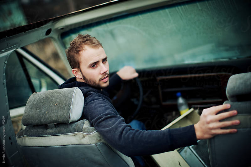 Old Car Man by Kevin Russ for Stocksy United