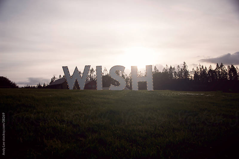 What do you wish for? by Andy Lee for Stocksy United