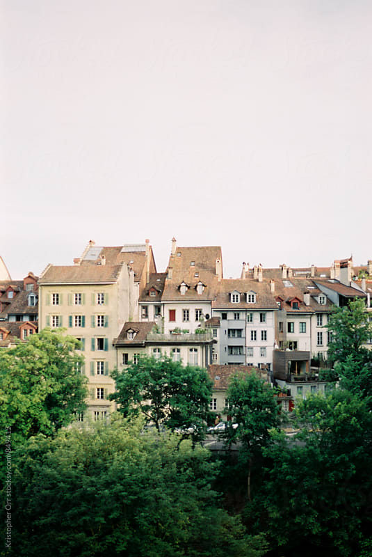 Homes in Bern, Switzerland by Kristopher Orr for Stocksy United