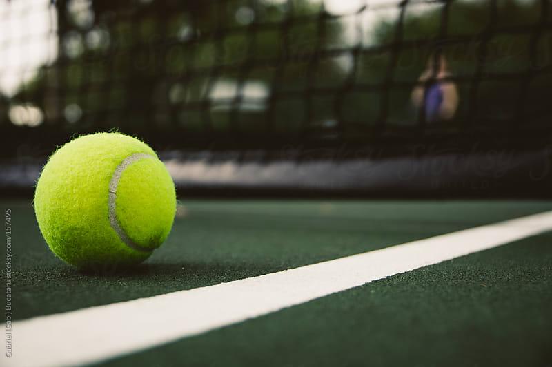 Tennis Ball by Gabriel (Gabi) Bucataru for Stocksy United