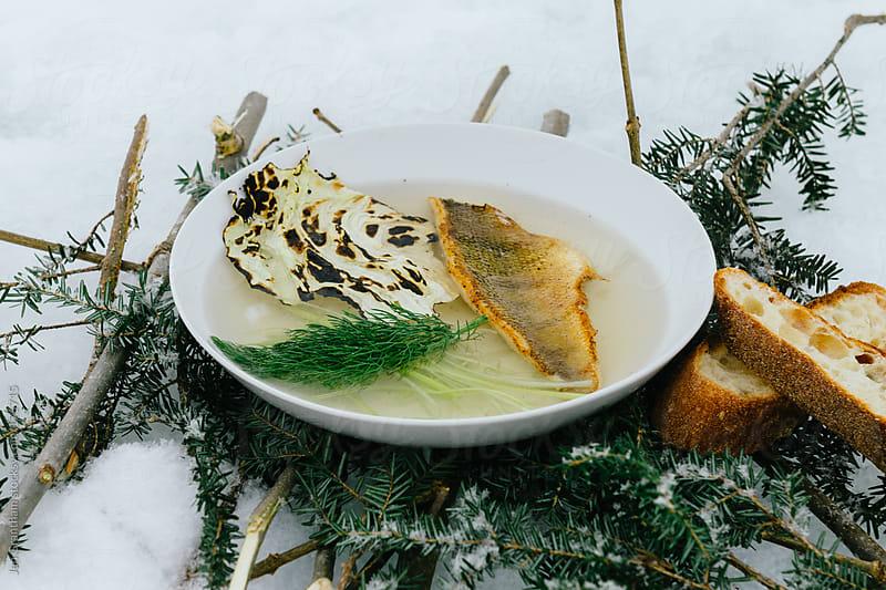 Perch Soup by Jen Grantham for Stocksy United