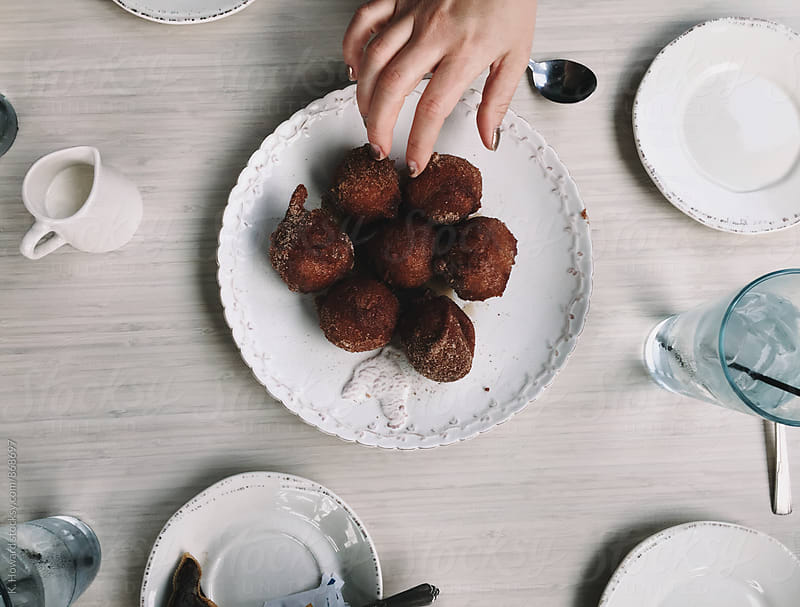 Brunch and Doughnuts. by K. Howard for Stocksy United