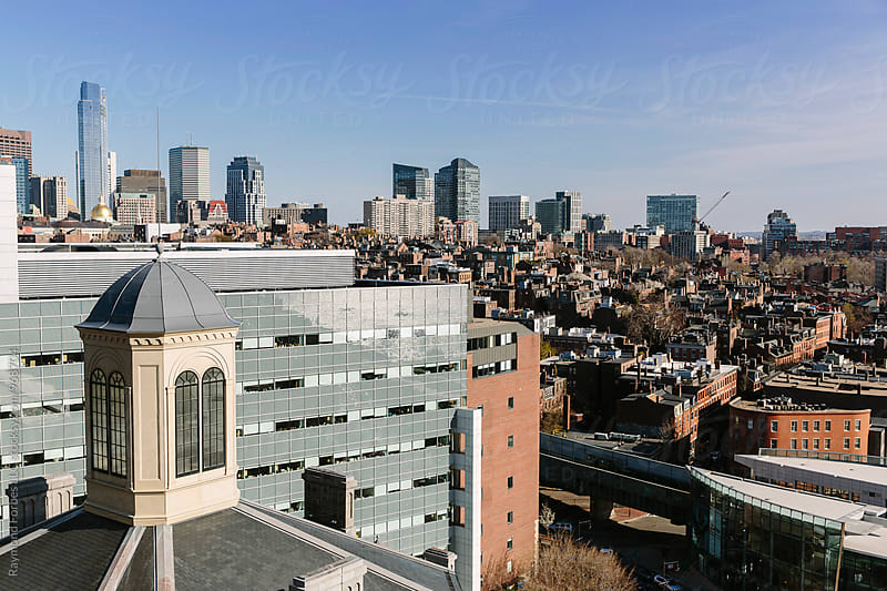 Boston Skyline by Raymond Forbes LLC for Stocksy United