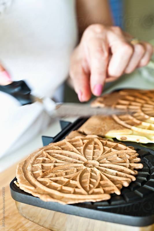 Pizzelle Maker by Jill Chen for Stocksy United