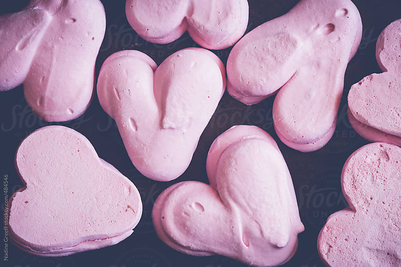 Heart Meringues by Nadine Greeff for Stocksy United