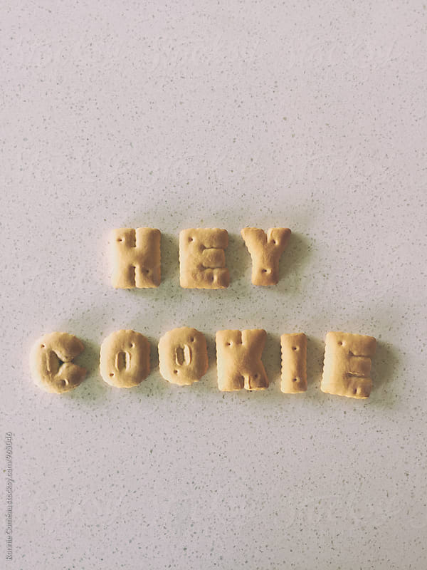 Cookie Note - Hey Cookie by Ronnie Comeau for Stocksy United