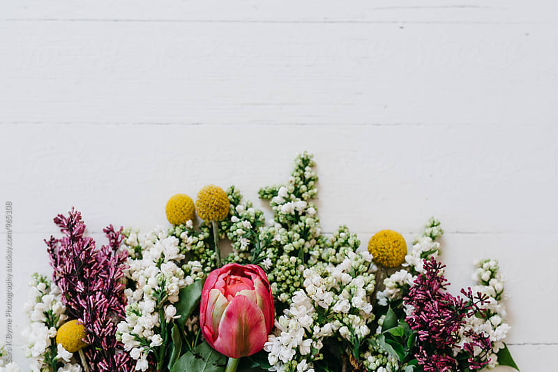 Spring Floral by Sara K Byrne Photography for Stocksy United