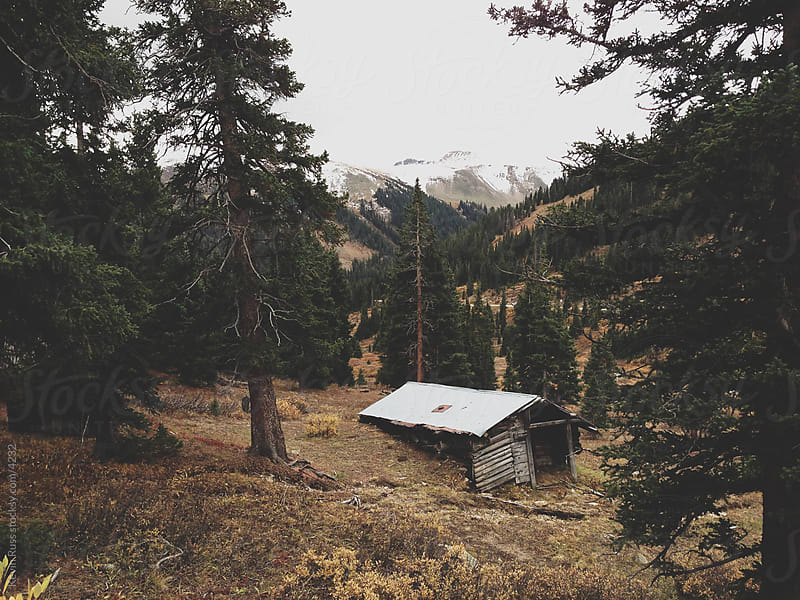 Abandoned Mountain Cabin by Kevin Russ for Stocksy United