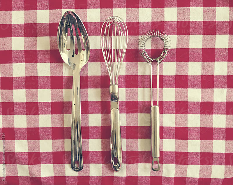 Various kitchen utensils by Greg Schmigel for Stocksy United