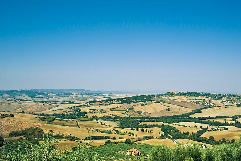 Val d'Orcia in Tuscany by GIC for Stocksy United
