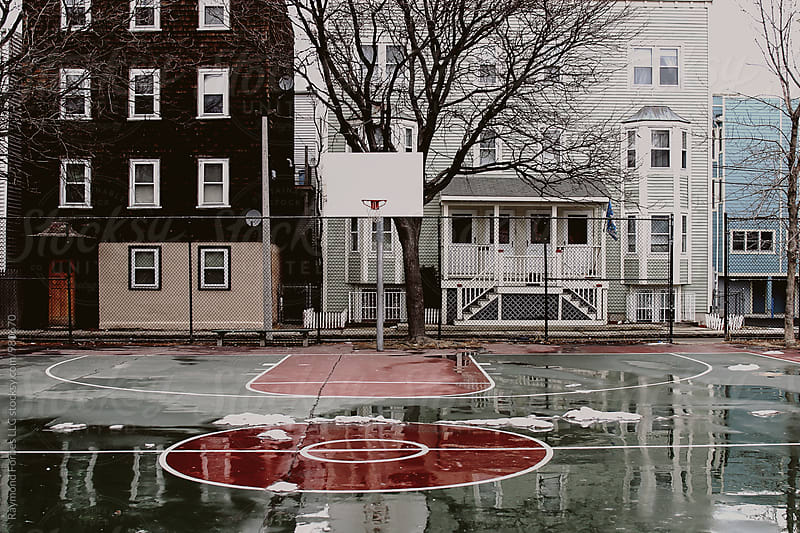 Southie Hoop Court by Raymond Forbes LLC for Stocksy United