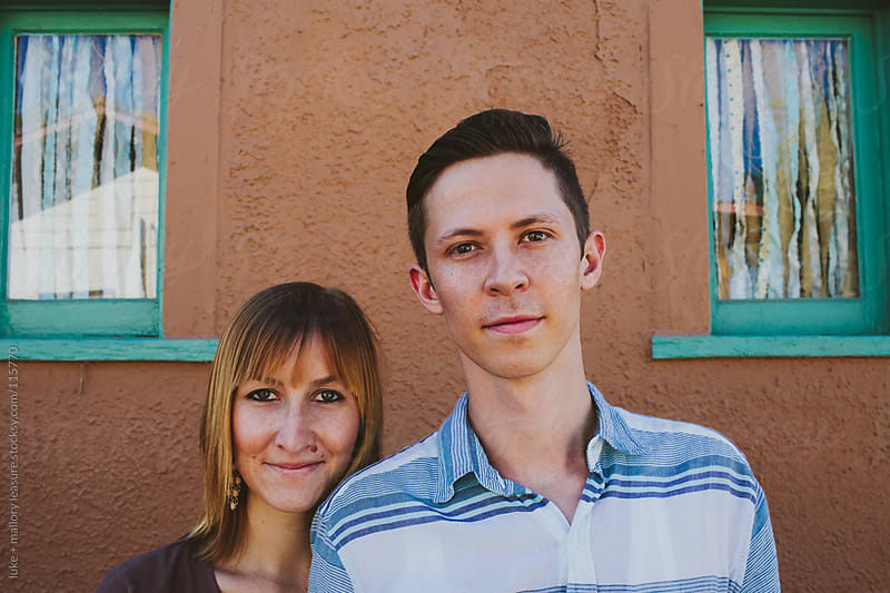 Young Couple at Their Home by luke + mallory leasure for Stocksy United