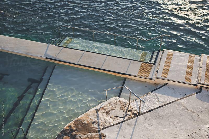 Summer Sea Baths  by WAA for Stocksy United